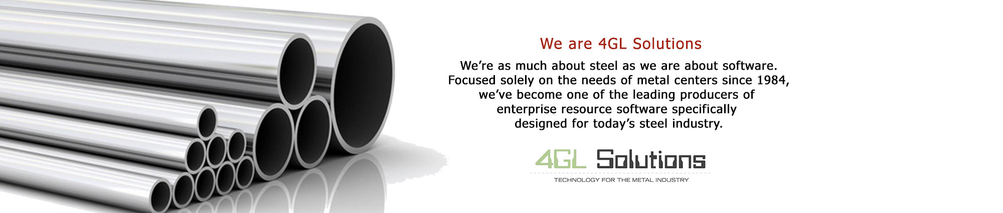 We are 4GL Solutions Slide